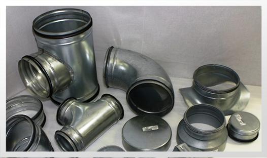 ZnFe Kanavistot (metalliset)